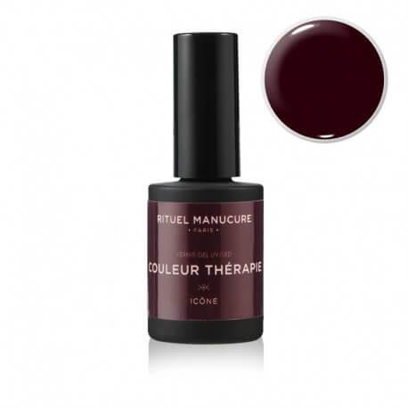Icone - Vernis permanent rouge noir - Rituel Manucure