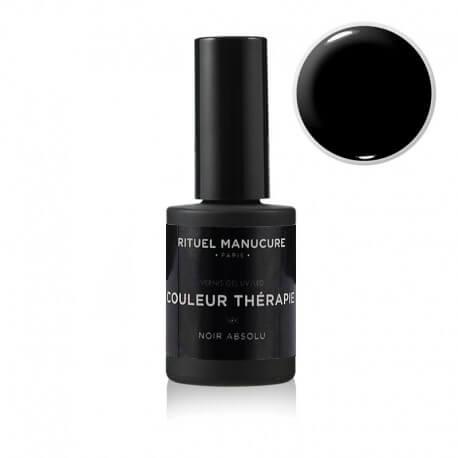 Noir Absolu - Vernis permanent noir - Rituel Manucure