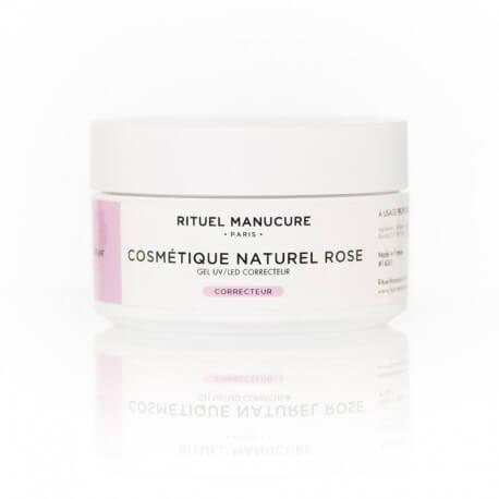 COSMÉTIQUE NATUREL ROSE UV/LED 40g - GEL DE CONSTRUCTION ROSE
