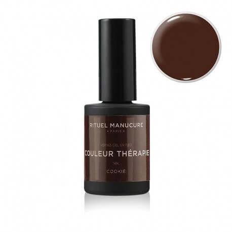 Cookie - Vernis permanent marron foncé - Rituel Manucure