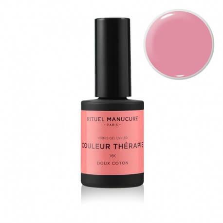 Doux Coton - Vernis permanent rose - Rituel Manucure