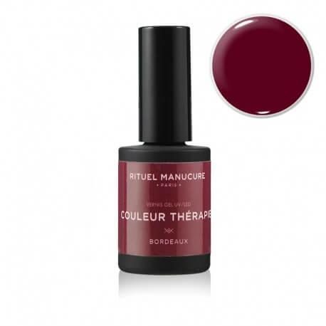 Bordeaux - Vernis permanent bordeaux - Rituel Manucure