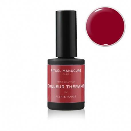 Alerte Rouge - Vernis permanent rouge - Rituel Manucure