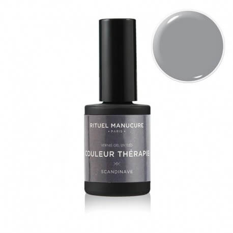 SCANDINAVE - VERNIS PERMANENT 15ML - GRIS