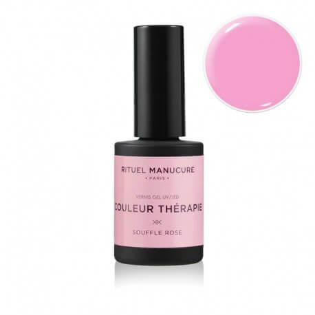 SOUFFLE ROSE - VERNIS PERMANENT 15ML - ROSE PIMPANT VIF