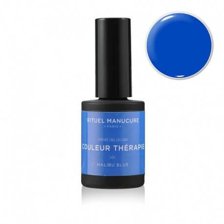 Malibu Blue - Vernis permanent bleu - Rituel Manucure