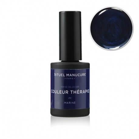 Marine - Vernis permanent bleu foncé - Rituel Manucure