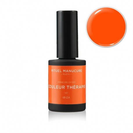 Ibiza - Vernis permanent Orange fluo - Rituel Manucure