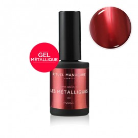MÉTALLIQUE ROUGE - VERNIS PERMANENT 15ML