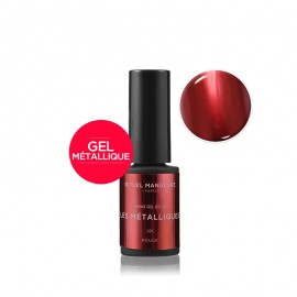 MÉTALLIQUE ROUGE - VERNIS PERMANENT 5ML