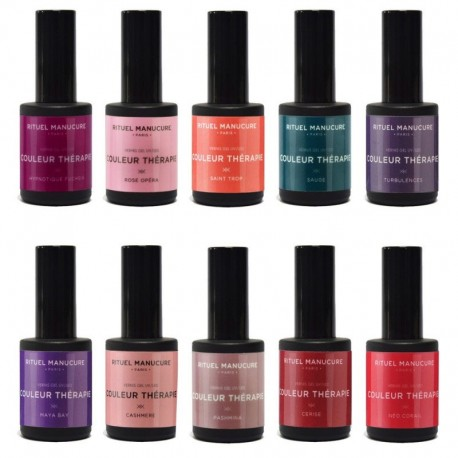 Kits & Coffret vernis permanents 15ml Professionnels 30 couleurs