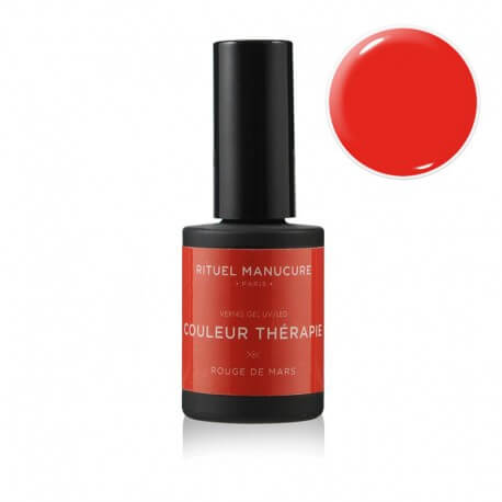 Rouge de Mars - Vernis permanent Rouge Orangé - Rituel Manucure