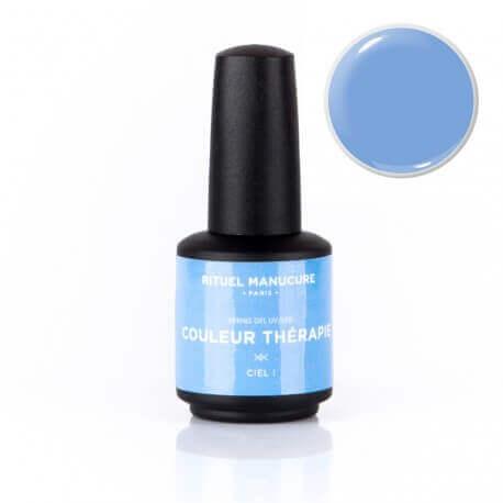 Ciel ! - Vernis permanent bleu ciel - Rituel Manucure