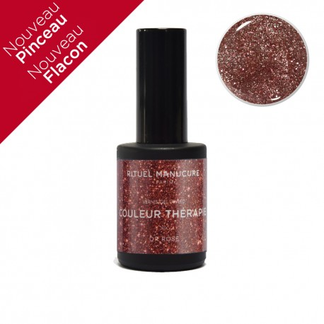 OR ROSE - VERNIS PERMANENT